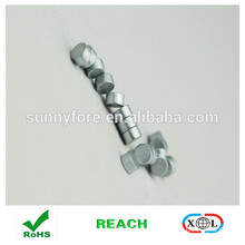 Dia 5x3mm zinc coating round magnetic button