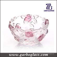 Bacia de vidro de Rosa (GB1615MG-1 / PDS)
