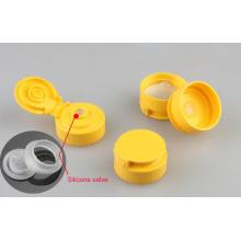Válvula de Silicone para Squeeze Bottle Flip Top Cap (PPC-SCV-01)