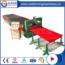 Panel Roof Corrugated Sheet Cold Roll Forming Machine