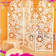 Billig Faltschild Holz Kunststoff Carving fancy Raumteiler