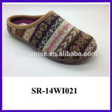 2014 simple style winter slipper for woman
