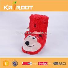 cheap cute animal shaped fur boots shoes