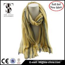 Neuer Material hochwertiger Soft Touch dünner Oversize Unisex Schal