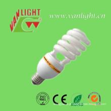 T4 Lâmpada lâmpada CFL 65W poupança de energia de meia espiral