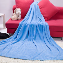 Wholesale Beautiful Microfiber Coral Fleece Throw Blanket