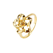 Hot Sale Xuping Elegant Unique Flower Jewelry Ring
