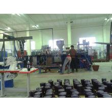 Maschine zur Herstellung von zwei farbigen Raintboots