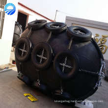 Hot Sale Marine Pneumatic Rubber Fender with Galvanized Chain and Tire Made in China