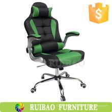 Alta calidad PU cuero ergonómico silla de oficina mayorista