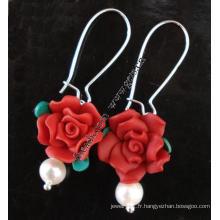 Gets.com collier de perles d'eau douce et multicolore