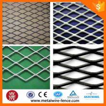 Hot venda de alta qualidade pequeno buraco expandido malha de metal / alumínio expandido malha de metal
