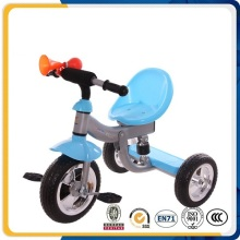 Niños 3 rueda buena bicicleta de bebé con marco de metal