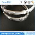 Китай светодиодные обувь и светодиодные ленты прозрачный квадрат ПВХ Производство трубки
