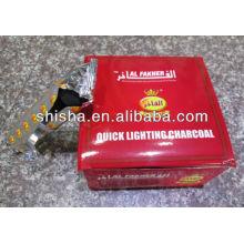 Carvão vegetal de Al fakher narguilé carvão shisha por atacado do cachimbo de água