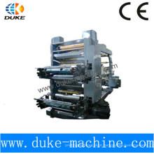 Alta precisão 4 cores flex máquina de impressão