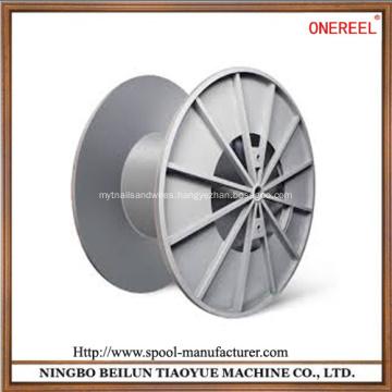 Enhanced cable reel drum rollers