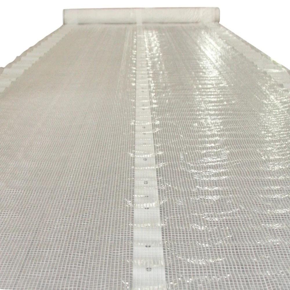 Clear Transparent Leno Tarp Construction Covers
