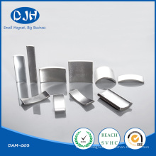 High Powered Arc Permanent NdFeB Wind Turbines Magnets