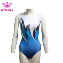 Women Ladies Bodysuit Stretch Gymnastics Leotard
