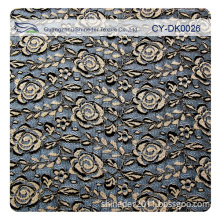 Attractive Spandex Cotton Polyester Allover Lace Fabric Garment Accessory (CY-DK0026)