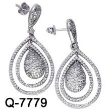 Новые стили Серьги 925 серебряных украшений (Q-7779. JPG)