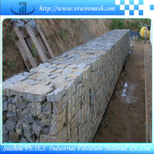 Esgrima de engranzamento Gabion para construção de estradas
