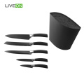 5pcs Knives Universal Knife Block Set