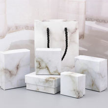 Marble pattern ring earring jewellery box online purchase