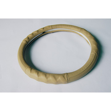 Bottom price for Genuine Leather Steering Wheel Cover,Black Steering Wheel Covers,Leather Steering Wheel Cover,Steering Wheel Wrap Manufacturers and Suppliers in China Genuine leather covered car steering wheel export to Kazakhstan Supplier