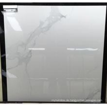 Glänzendes poliertes Porzellan Super Schnee Weiß glasierte Bodenfliesen