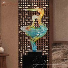 Hotel lobby decoration abstract figure dancer modeling sculpture