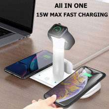 Qi Standard Wireless Charger Dual Wireless Charging Pad