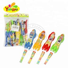 Halal Finger Skateboard Toy With Fruity Flavor Tablet Candy