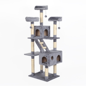 Cat Tree Condo with Hammock