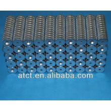 Imanes del cilindro magnetizado axialmente