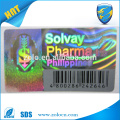 Anti-Counterfeit Feature and PET Material hologram sticker printing
