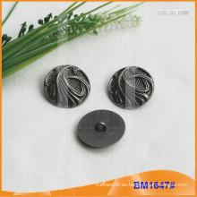 Botón de aleación de zinc y botón de metal y botón de costura de metal BM1647
