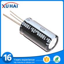 Через отверстие 1500UF 200V Алюминиевый электролитический конденсатор Цена