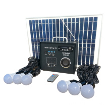 40w Solar Led Garden Light Radio System