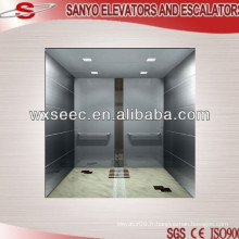 Hairline Stainless Steel Car Elevator