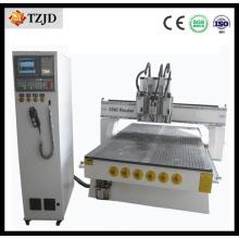China CNC da máquina do router do CNC de 3d Atc que cinzela a máquina
