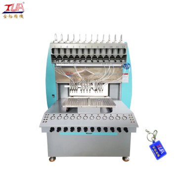 Wholesale liquid pvc filling machine keychain making machine