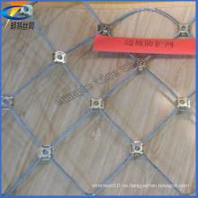 Sistema activo de la protección de la pendiente, malla de alambre de la estabilidad de la cuesta