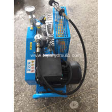 Italian portable 3 cylinder piston pcp electric compressor