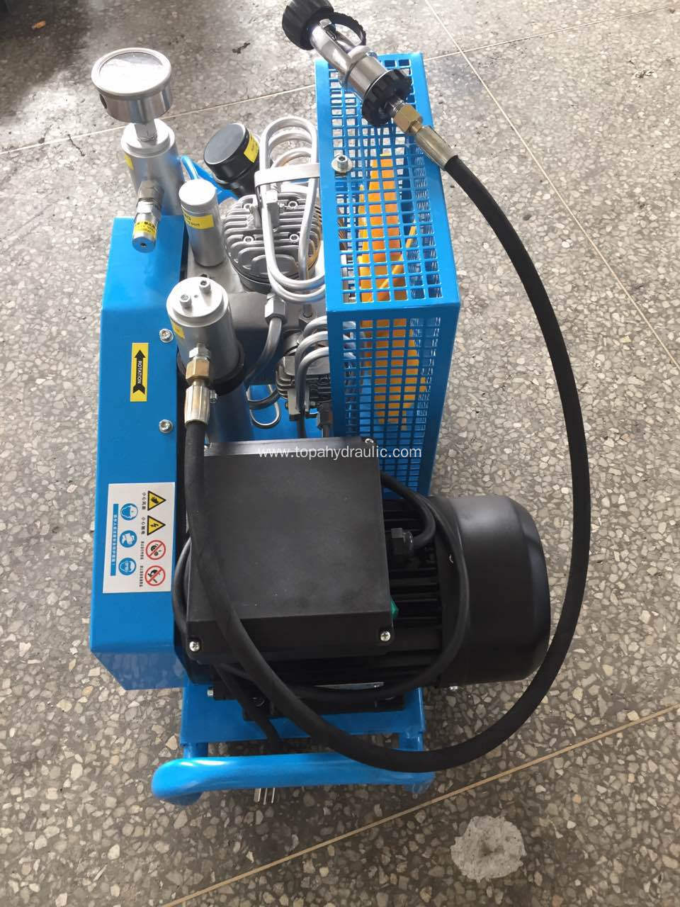 screw oil central pneumatic free paintball air compressor