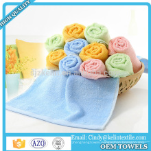 China Factory Quick Dry Bamboo Fiber Face Towel With Customized Logo