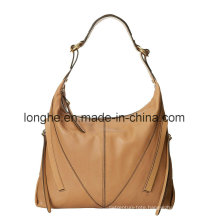 New Classic Ladies Woven Detail PU Handbags (ZXS0110)