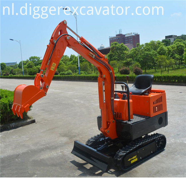 360 degree rotation mini excavator
