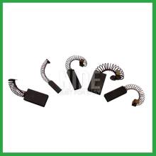 Electric carbon brushes for motor parts and accessories